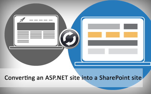 ASP.NET SharePoint migration services